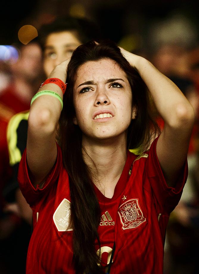 très belle espagnole déçue