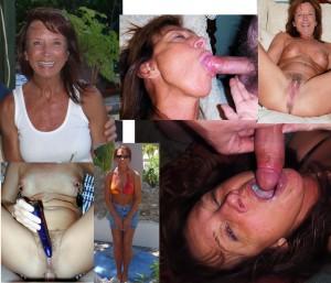 femme mature normale mais utilise son gode et suce des bites