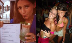 femme simple à gauche et femme chaude à droite