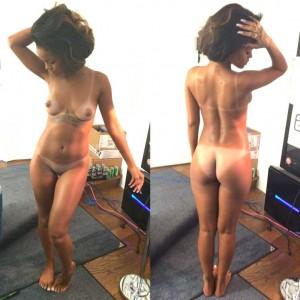 rihanna nue photos volées de son cul