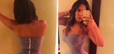 Comment une latine sexy met son corps en valeur