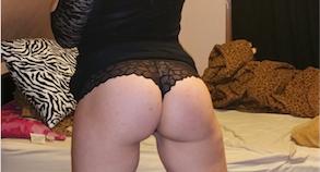 belle femme en sous-vêtements