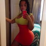 selfie sexy et un superbe corps
