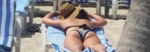 que de bombasses à la plage