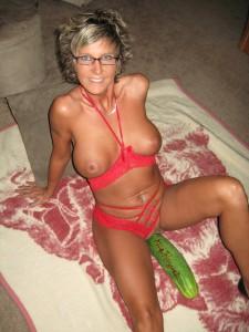 MILF en lingerie coquine